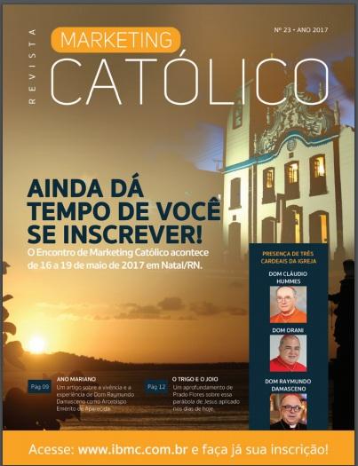 A Revista Marketing Católico está ainda melhor